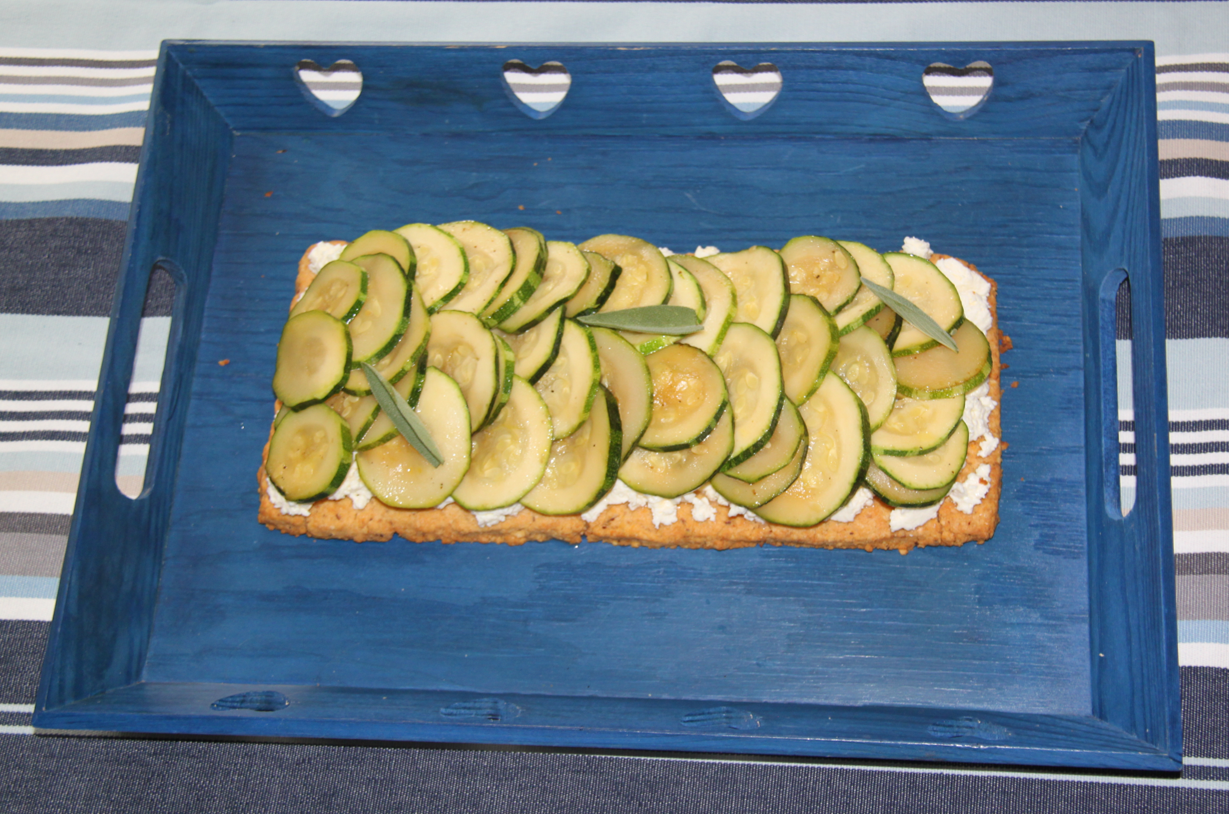 Tarte gourmande courgette